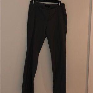 Charcoal gray Ann Taylor work pants